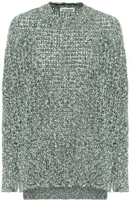 Jil Sander Cotton and cashmere sweater