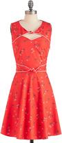 Trollied Dolly Good Ol' Daisy Dress in Strawberry