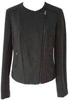 Catherine Malandrino Women's Blazer Jacket Dark Gray (XXL)