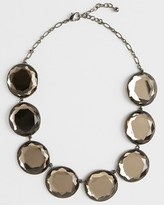 FINAL SALE Champagne Faceted Chain Necklace