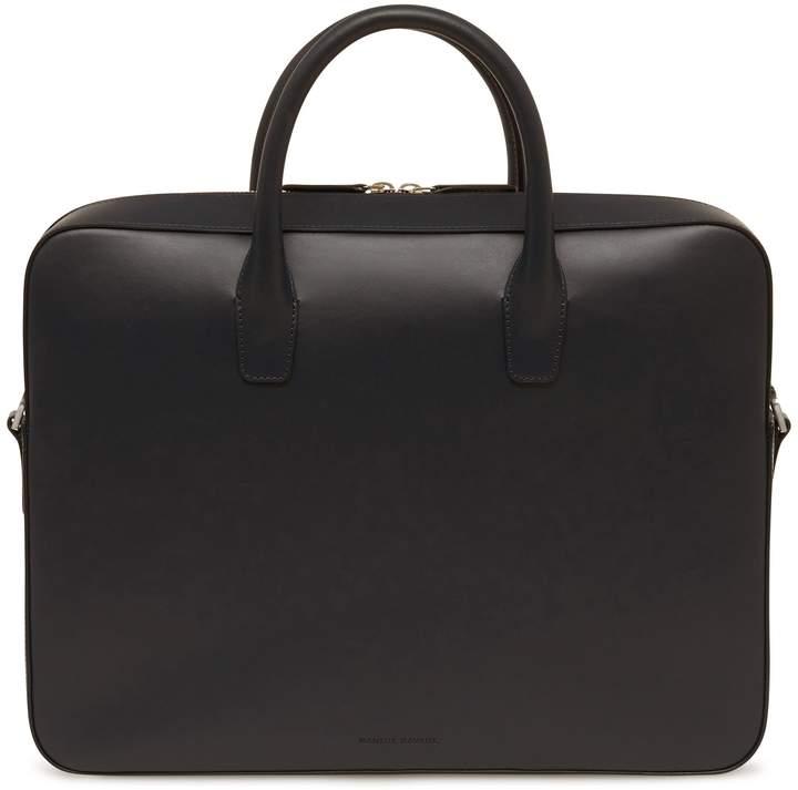 Mansur Gavriel Vegetable Tanned Briefcase - Black