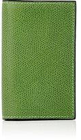 Valextra Women's Folding Card Case-GREEN