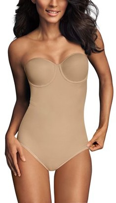 Flexees by Ultra Firm Strapless Bodybriefer Shapewear