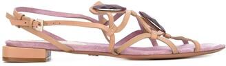 Giorgio Armani Pre Owned Open Toe Sandals