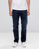 Diesel Waykee Straight Jeans 677j Dark Indigo