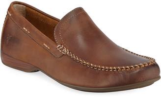 Frye Men's Lewis Leather Slip-On Venetian Loafers