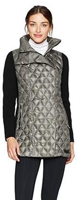 Calvin Klein Women's Down Filled Asymmetric Walker Coat