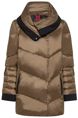 Post Card Muse Carcoat Down Jacket