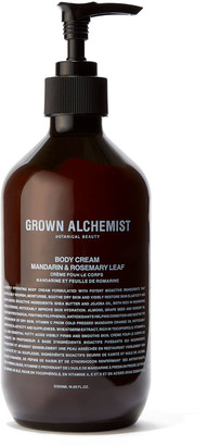 Grown Alchemist Body Cream: Mandarin & Rosemary Leaf - 500Ml
