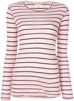 Etoile Isabel Marant Aaron striped top - women - Cotton/Linen/Flax - XS