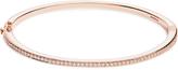 RAPHAELE CANOT Skinny Deco diamond, enamel & pink-gold bracelet