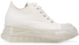 Rick Owens Canvas Lace-Up Trainers