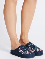 Marks and Spencer Tatty Teddy Embroidered Mule Slippers