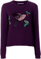 Alberta Ferretti bird jumper - women - Cashmere/Virgin Wool - 40
