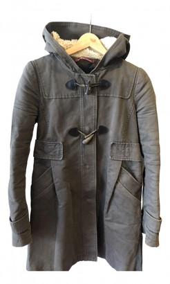 Comptoir des Cotonniers Khaki Cotton Coats