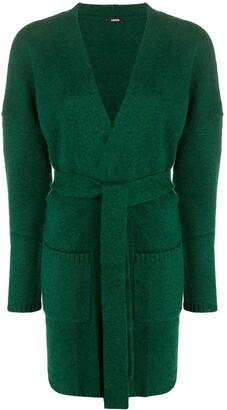 Aspesi Long-Sleeve Wool Card-Coat