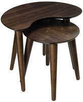 Malmo Nest of Lamp Tables Timber: American Walnut