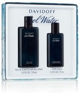Davidoff Cool Water By For Men Edt Spray 4.2 Oz & Aftershave 2.5 Oz