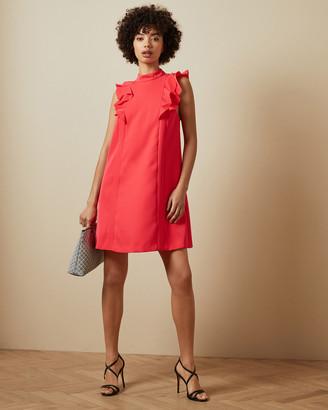 Ted Baker SUNREY Ruffle swing mini dress