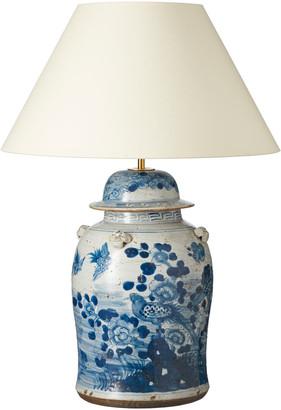 OKA Fenghuang Ceramic Table Lamp - Blue