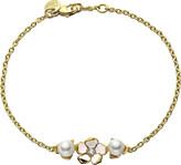 Shaun Leane Sterling silver gold vermeil single flower bracelet