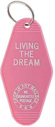 Sweet Water Decor Key Chains Pink - Pink 'Living The Dream' Key Chain