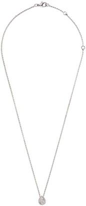 Boucheron 18kt white gold Serpent Boheme diamond XS motif pendant necklace