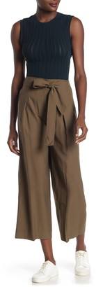 Madewell Mitford Tie Front Wide Leg Pants
