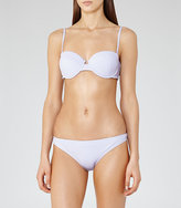 Reiss Jourdan T Structured Bikini Top