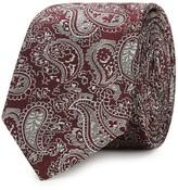 Peckham Rye Paisley Silk Jacquard Tie