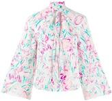Rixo Kim abstract floral print shirt