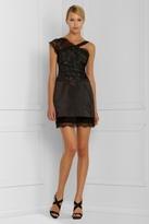 Asymmetrical Lace Cocktail Dress