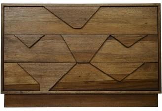 Noir Cascata 3 Drawer Dresser