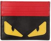 Fendi Monster Smooth Leather Card Holder