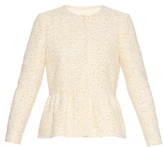 Giambattista Valli Peplum tweed jacket