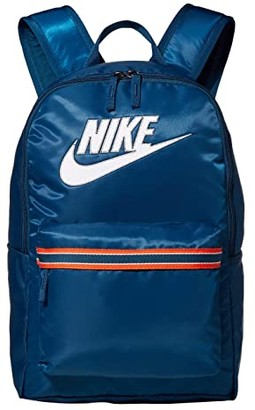 Nike Heritage Backpack - Jersey CLTR (Blue Force/Blue Force/White) Backpack Bags