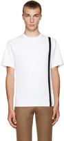 Kolor White Single Stripe T-Shirt
