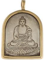 Me & Ro Me&Ro Bi-Colored Buddha Pendant