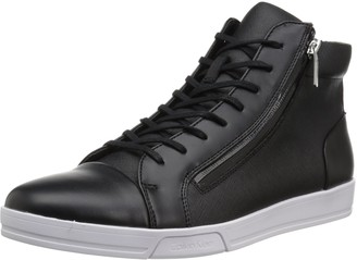 Calvin Klein Men's Berke Brushed Leather Sneaker