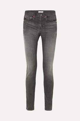 Balenciaga Mid-rise Skinny Jeans - Black