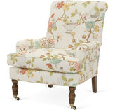 Miles Talbott Collection Abigail Chair, Cream Floral