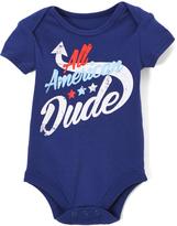 Baby Starters Navy 'All American Dude' Bodysuit - Infant