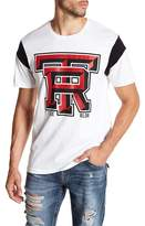 True Religion Graphic Football Sleeve Tee