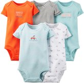 """Carter's Baby Boys' """"Frisbee Pup"""" 5-Pack Bodysuits"""