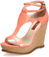 7 For All Mankind Rayn Wedge Sandal