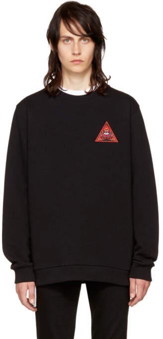 Givenchy Black Real Eyes Sweatshirt