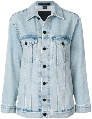 Alexander Wang Loose-Fit Denim Jacket