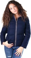 Invicta Woman Hooded Padded Bomber Blue