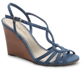 Kelly & Katie Nessie Denim Wedge Sandal