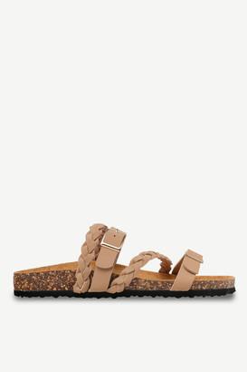 Ardene Braided Faux Suede Sandals